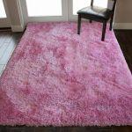 8 X10 Feet Shag Shaggy Fluffy Fuzzy Furry Flokati Pink Color Area Rug Carpet For Sale Online