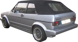 VW GOLF 1 CAPOTE CABRIOLET NERO NUOVO QUALITA SUPERIORE eBay