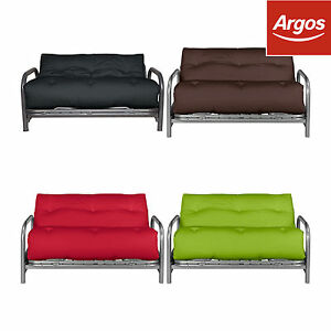 sofa bed argos best steam cleaner for microfiber colourmatch mexico futon double with mattress choice of image is loading