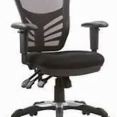 Office Chair Levers Adams Kids Stacking Adirondack Titan Mesh Back Executive Managers Swivel With 3 Image Is Loading