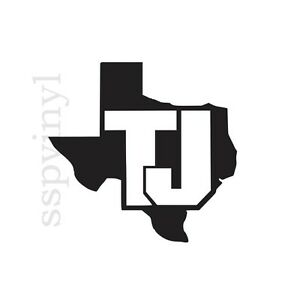 TEXAS TJ JEEP Hood Wrangler Rubicon Sahara Decal Sticker