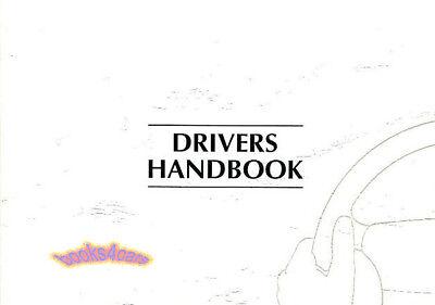 XK8 OWNERS MANUAL JAGUAR 1999 DRIVERS HANDBOOK 99 GUIDE XK