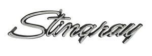 US-Made 1969-73 Corvette Stingray Front Fender Emblem NEW