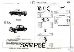 1959 1960 1961 1962 1963 1964 AUSTIN SPRITE MG MIDGET