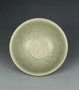 Song dynasty Chinese antique porcelain celadon bowl