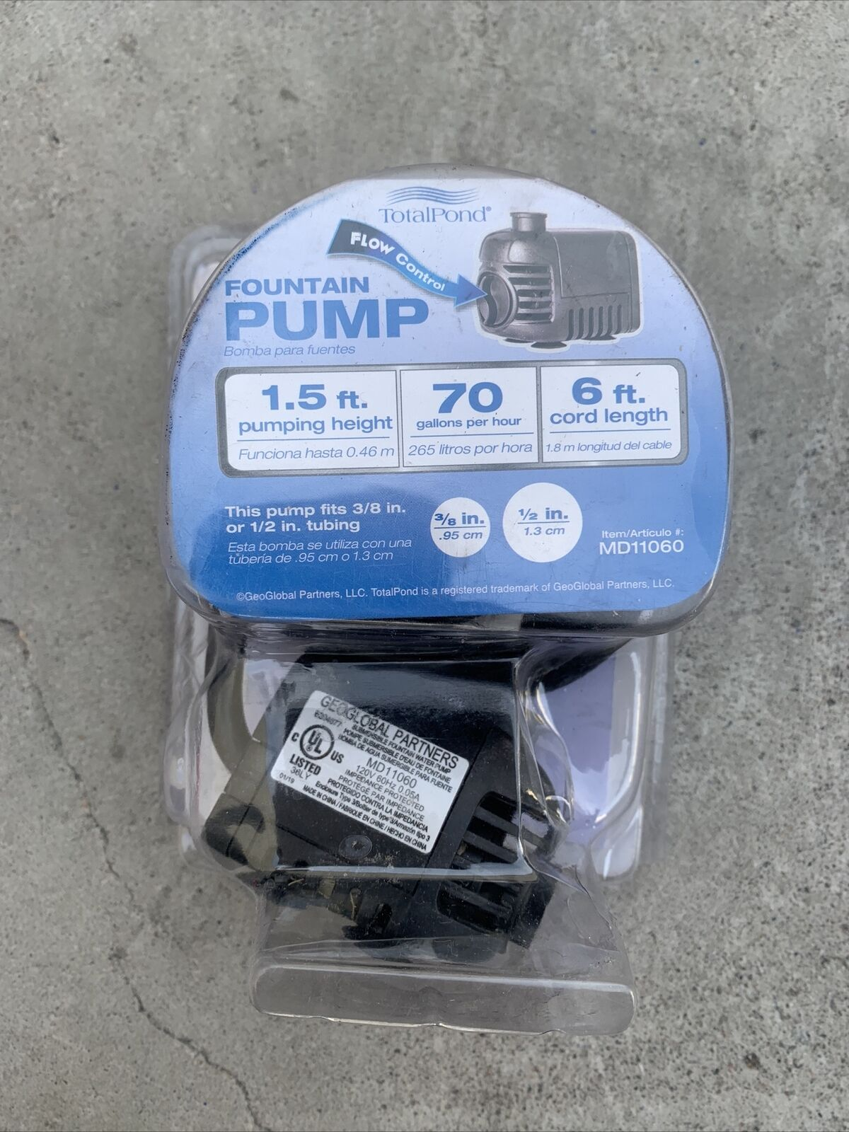 Geoglobal Partners Submersible Pump : geoglobal, partners, submersible, Total, Fountain, Online