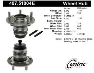 C-TEK Standard Wheel Bearing & Hub Assembly fits 2010-2013