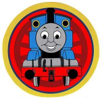 "5-8"" THOMAS THE TRAIN TANK CHARACTER WALL SAFE STICKER ..."