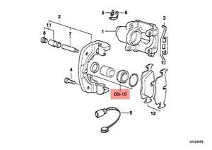 Genuine BMW E31 E32 E34 E36 E38 E39 Brake Caliper Repair