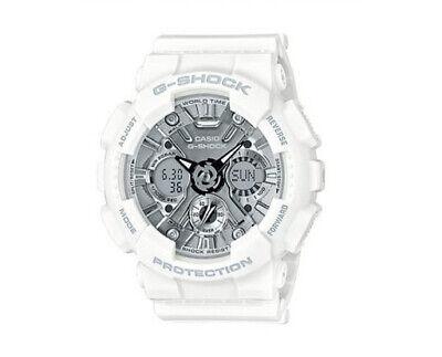 Casio G-Shock Anadigi Black Metallic Face Ladies' White
