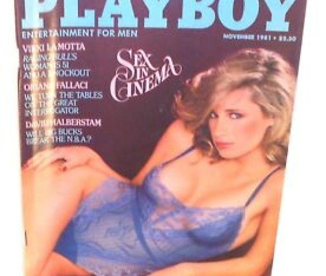 Image Is Loading Playboy November 1981 Teri Petersen Sex In Cinema