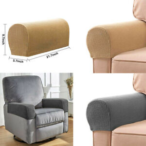 details about 2x premium furniture armrest covers leather sofa couch chair arm protectors uk