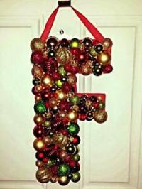 Custom Hand Made Letters - Christmas Decorations- Decor ...