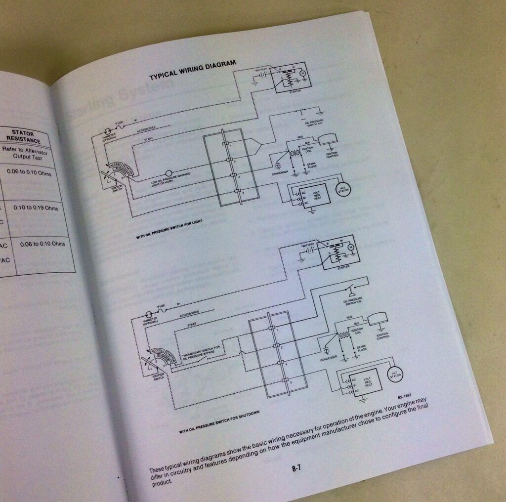 hight resolution of onan engine 16 18 20 24 hp service repair overhaul manual ebay