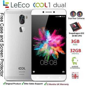 "LeEco Cool 1 Dual 5.5"" Smartphone Android 6 Snapdragon 652 Dual SIM 3GB RAM 32GB"