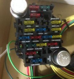 21 circuit 17 fuses ez wiring harness chevy mopar ford hot rod universial wires [ 1200 x 1600 Pixel ]