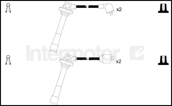 73376 ignition cable leads kit FORD PROBE MAZDA 626 MX6