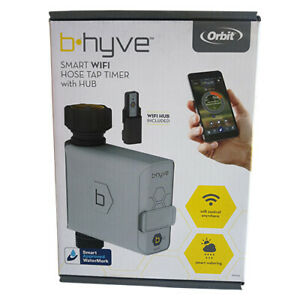 details about orbit b hyve wifi smart watering hose faucet timer with water usage tracker