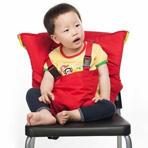 booster seat high chair patio covers costco baby portable feeding for child infant safety belt image is loading