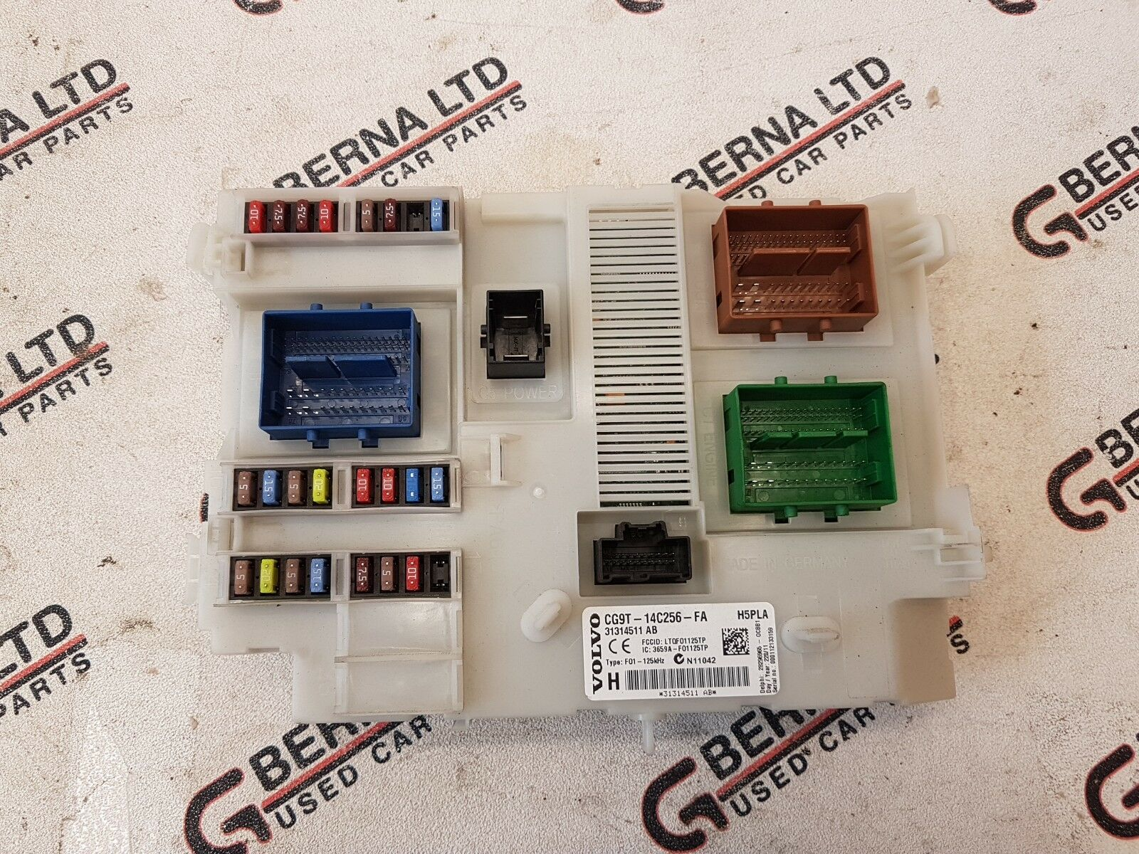 hight resolution of volvo v60 s60 xc60 2009 2018 central electronic module unit fuse box 31314511 ab