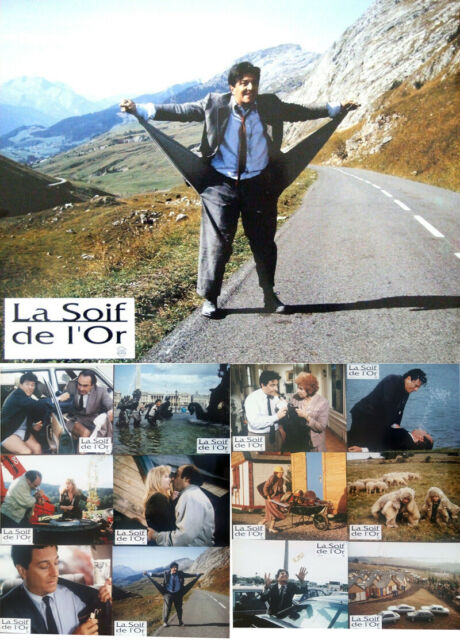 La Soif De L Or : Photos, 21.5x27cm, (1993), Christian, Clavier, Tsilla, Chelton