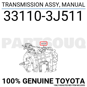 331103J511 Genuine Toyota TRANSMISSION ASSY, MANUAL 33110