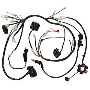 WIRING HARNESS LOOM GY6 125cc 150cc Chinese Electric start