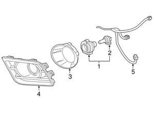 Genuine GM NEW Fog Light Lamp Wiring Harness for Chevrolet