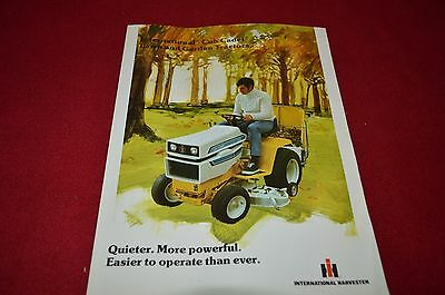 International Harvester Cub Cadet Lawn Garden Tractor 1975