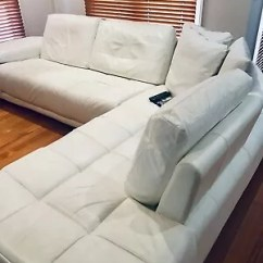 Harvey Norman York Sofa Bed With Chaise Chesterfield Singapore Cheap Beige Leather Lounge In Good Condition
