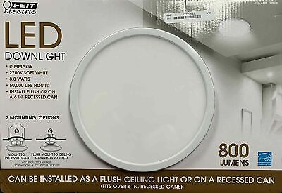 feit electric led downlight dimmable 7 5 2700k soft white costco 1326036 sealed 17801477740 ebay