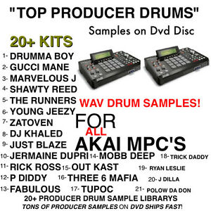 TOP 21 SAMPLE kit for AKAI MPC X REN 4000 2500 1000 2000