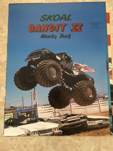 monster truck poster pack skoal bandit