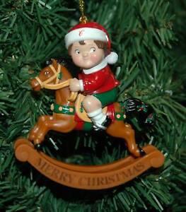 Rocking Horse Christmas Ornaments
