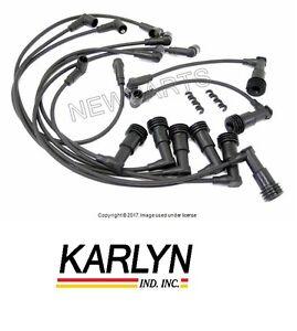 Porsche 928 1978-984 Ignition Spark Plug Wire Set 10 8533