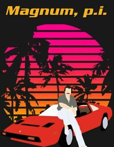 details about magnum p i 80s 90s poster tv movie photo poster 24 by 36 inch 3