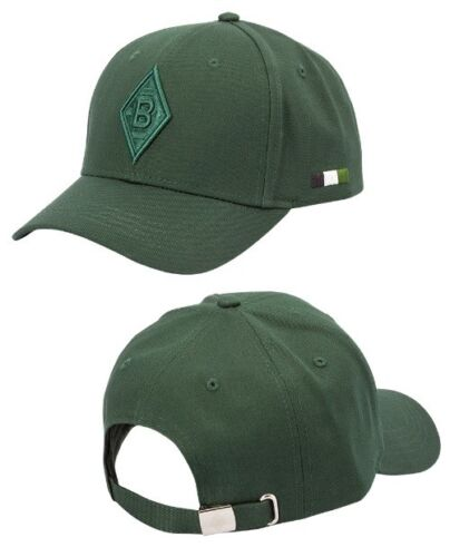 sport 2019 mutze cap baseballcap gladbach monchengladbach trikot green neu oliveoil kanakis
