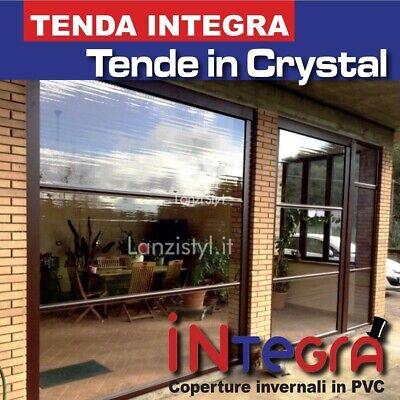 Da 5,50 € / m *. Tenda Integra Copertura In Pvc Cristal Trasparente Prodotto Su Misura Ebay