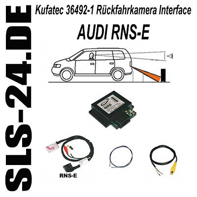 Audi Rearview Camera Rfk Interface RNSE a3 a4 s4 rs4 a6 s6