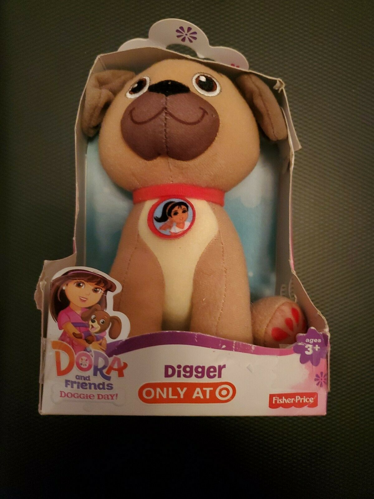 Dora And Friends Into The City Doggie Day : friends, doggie, Nickelodeon, Friends, Doggie, Digger, Puppy, Plush, Online