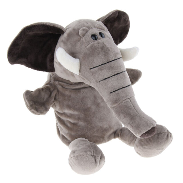 Soft Animal Hand Puppet w/Working Mouth Role-Play Time ...