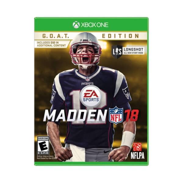 Madden NFL 18 GOAT Edition Microsoft Xbox One 2017