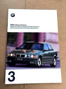 1998 Bmw 328i For Sale : Sedan, 32-page, Original, Sales, Brochure, Catalog
