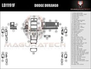 Fits Dodge Durango 2008-2009 No Navigation Large Wood Dash