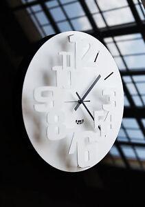 L'orologio da parete è interamente realizzato in ferro e tagliato al laser. Orologio Da Parete Perseo In Ferro Design Moderno Italiano Arti E Mestieri Ebay