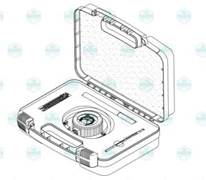 Field Service Calibration Smart Kit MIK074 for Midmark