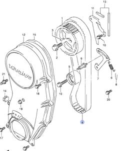 Car Parts NEW Genuine Suzuki Jimny 1.3 Engine TIMING CAM