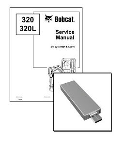 Bobcat 320, 320L Excavator Workshop Service Repair Manual