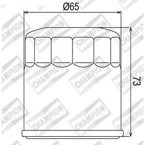 Oil filter cof203 polaris atv champion 330 magnum 2x4, 4x4