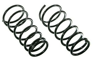 For Front Constant Rate Coil Spring Set Moog For Nissan